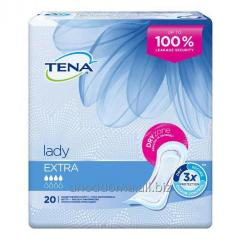 Urological laying of TENA Lady extra (10 pieces)