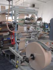 Linka na výrobu ploché papírové sáčky Holweg RS2