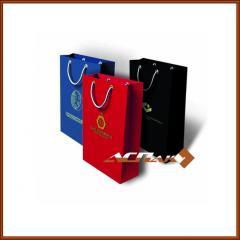 Packages paper gift 1 color of the seal 240х90х340