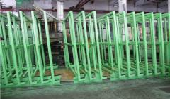 Mechanical warehouse for storage of sheet glass
