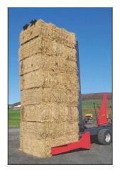 Automatic platform sorter (haylage + packaging)
