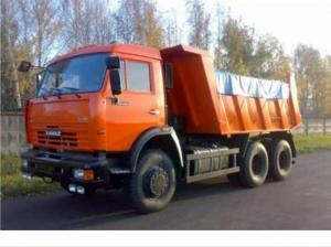 Tent on KAMAZ of 10 t.