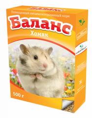 Balance a hamster (the vitaminized forage for