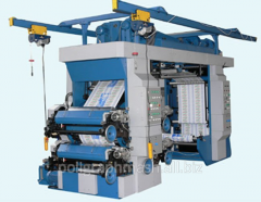 La máquina FDR-850 flexográfica 4 rollos de