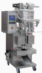 The packaging machine for liquid and pastelike