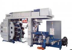 La máquina FDR-420/8 flexográfica 8 colores con un