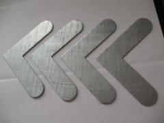 Угол усиления для стыковки металлопластиковых профилей