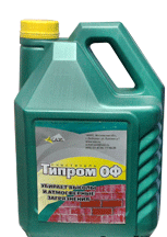 Cleaner from salt Tipry OF, 1 l; 5 l