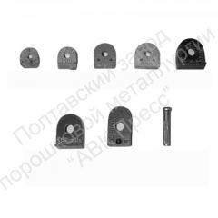 Heel-taps from metal ceramics