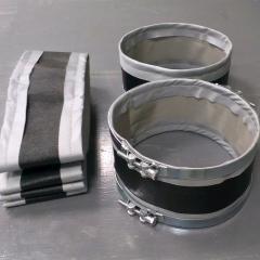 Tape fabric compensators (flexible inserts)