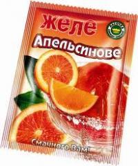 Jelly fruit in package (polunitsya, cherry,