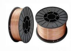 Wire welding copperplated 0,8mm (kg)