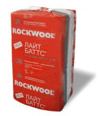 Теплоизоляционные материалы для стен Rockwool.