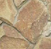 Stone flat natural (sandstone) thickness