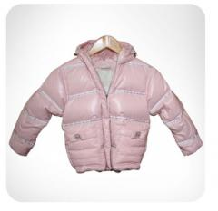 Down-padded coat for the girl | maiden down-padded