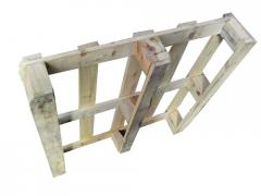 Second-hand pallets