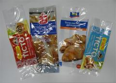Упакування для напівфабрикатів, харчових продуктів