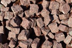 Брусчатка из гранита Лезниковского месторождения 5