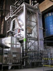 Pass combined heat and power plant on the basis of