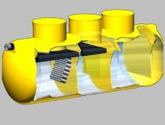 Horizontal sand trap settler model: CHC–DES
