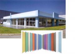 Фасадные декоративные стеклопластиковые панели