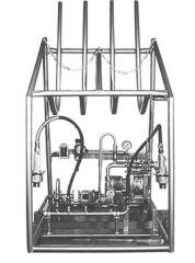 Установка опорожняющая для газовых баллонов (Оборудование для производства газовых баллонов)