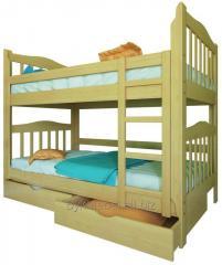 Ліжко двохярусне  МАРЯНА 800*1900