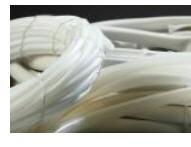 Трубка из кремнийорганической термостойкой резины (ТКР), Элди