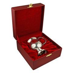 Кружка для чая и кофе из серебра 925 пробы