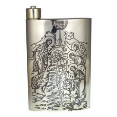 Фляга для святой воды из серебра 925 пробы