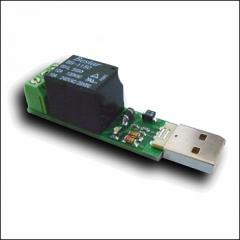 The relay management on MP709 USB Interne