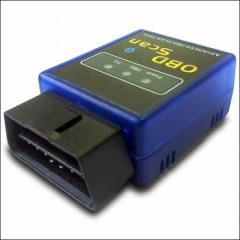 Cканер беспроводный OBD2 блютуз MP9213BT