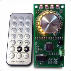 Audioregulator 4 channels. KIT MP1232 stere