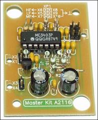 Active 3-band NM2116 filter