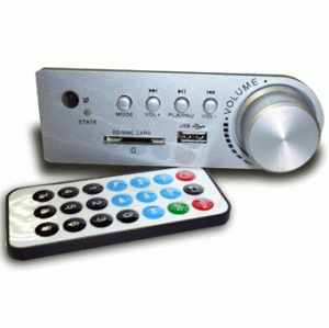 The MP3/WMA USB MP2388 player which is (built in)