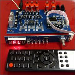 Home theater. Analog and digital inputs. KIT