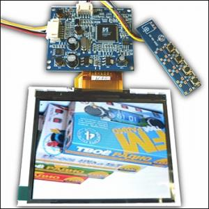 TFT-LCD module with a resolution of 320 x 240. KIT