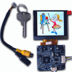 "Color 3.5"" TFT-LCD module 320x240 KIT"