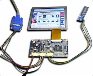 KIT MP2905VGA Color 5_ TFT-LCD the monitor with