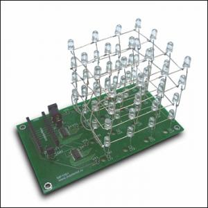 Arduino nano LED cube of LED CUBE of 4x4x4 Nan