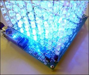 Arduino nano LED CUBE 8x8x8 Nano