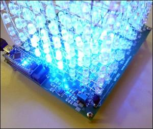 Arduino nano LED CUBE 8x8x8 Nan