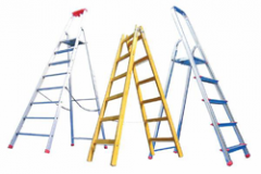 Ladders and step-ladders aluminum