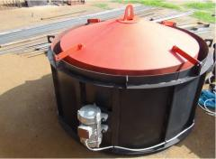Верстат (виброформа) для виробництва бетонних