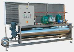 The industrial refrigeration unit - a chiller