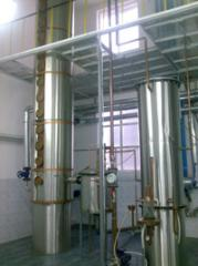 Distillation installation for production: cognac