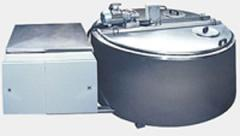 Milk cooling bath, material - stainless steel