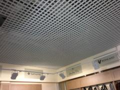 Алюминиевый решетчатый потолок Грильято