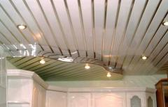 Rack aluminum ceilings in Exactly