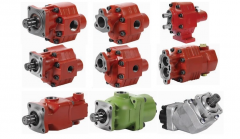 Hydraulic pumps, gear, piston, axial and piston